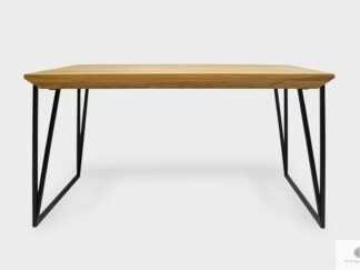 Elegant oak table to dining room living room ARES