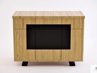 Industrial oak dresser with drawers to bedroom living room VITA