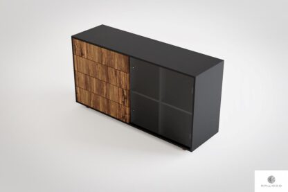 Wooden dresser with drawers to living room office CARLA Furniture Manufacturer RaWood Premium Furnit