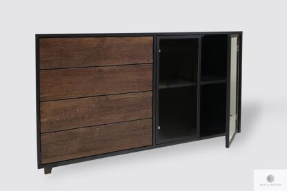 Large dresser with drawers and shelves to living room CARLA