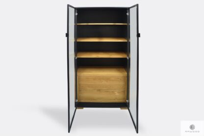 Modern display cabinet with shelves drawers to living room CARLA