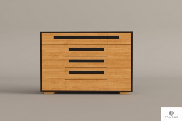 Wooden dresser with drawers to living room LAGOS I find us on https://www.facebook.com/RaWoodpl/