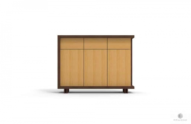 Modern dresser with drawers on wooden legs NESTON Furniture Manufacturer RaWood Premium Furniture