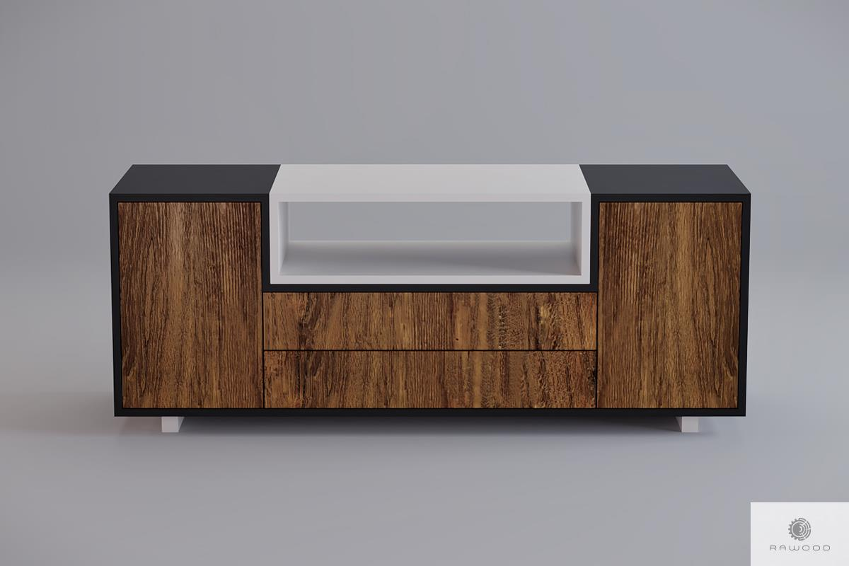 Wooden modern TV cabinet to living room BERGEN Furniture Manufacturer RaWood Premium Furniture