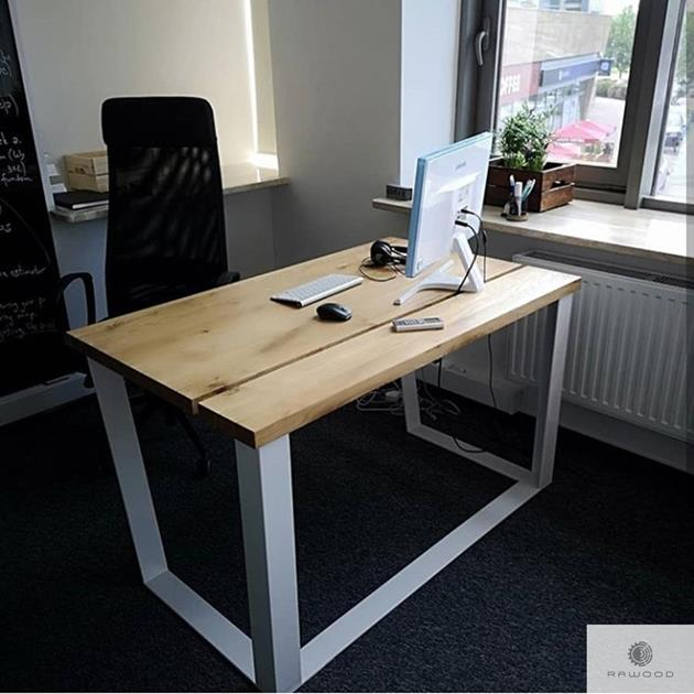 Solid oak desk with drawers to office MERGE