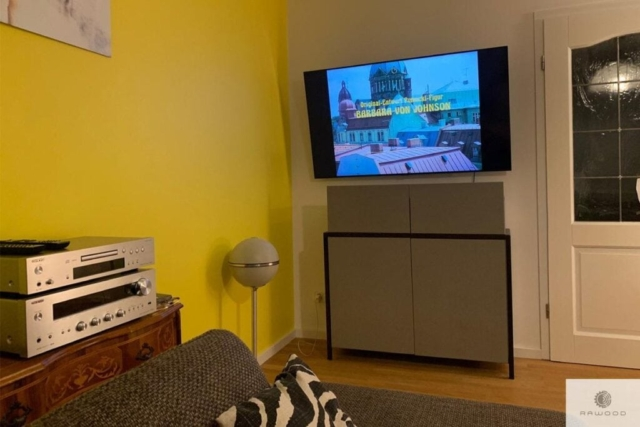 Modern dresser with drawers for size to living room BOSTON
