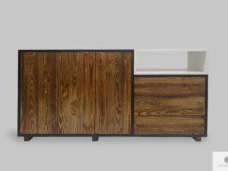 Designerska komoda w stylu skandynawskim do salonu gabinetu BERGEN I