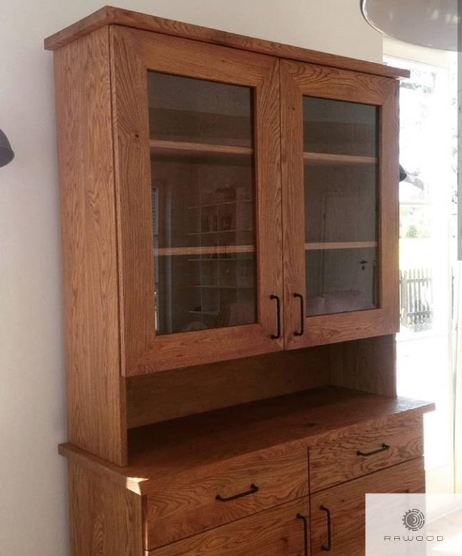 Sideboard of natural oak wood to living room MARINO