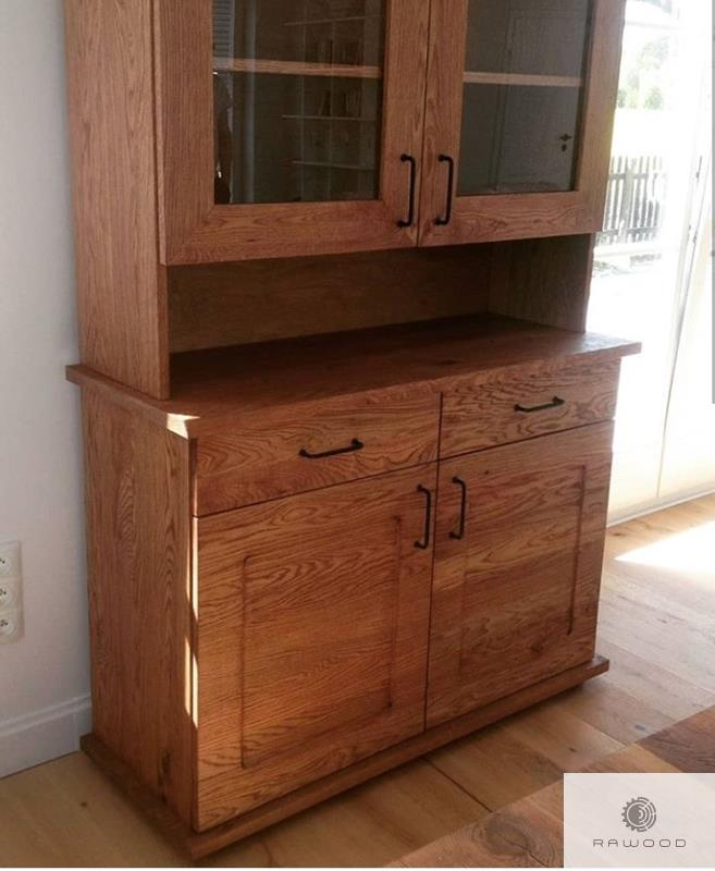 Sideboard of oak wood with drawers to dining room MARINO