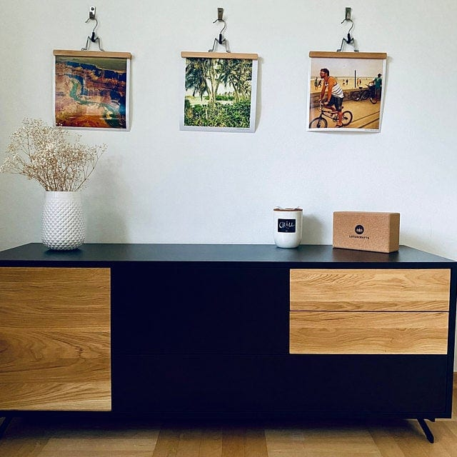 Modern wooden TV cabinet to living room CARLA
