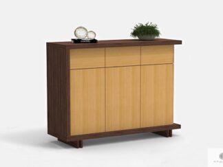 Modern dresser with drawers on wooden legs NESTON
