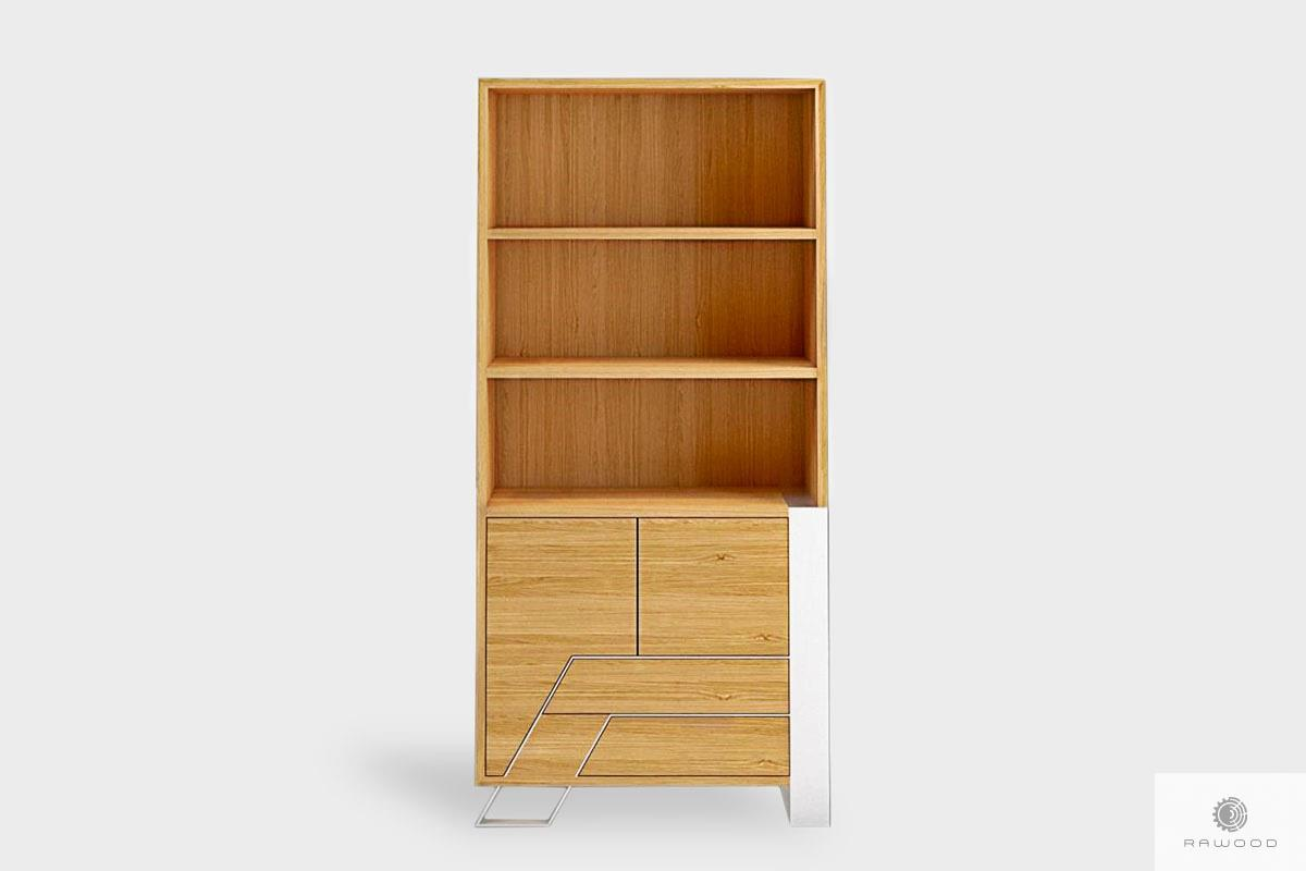 Wooden bookcase with drawers to living room bedroom BORA