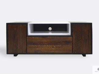 Wooden modern TV cabinet to living room BERGEN