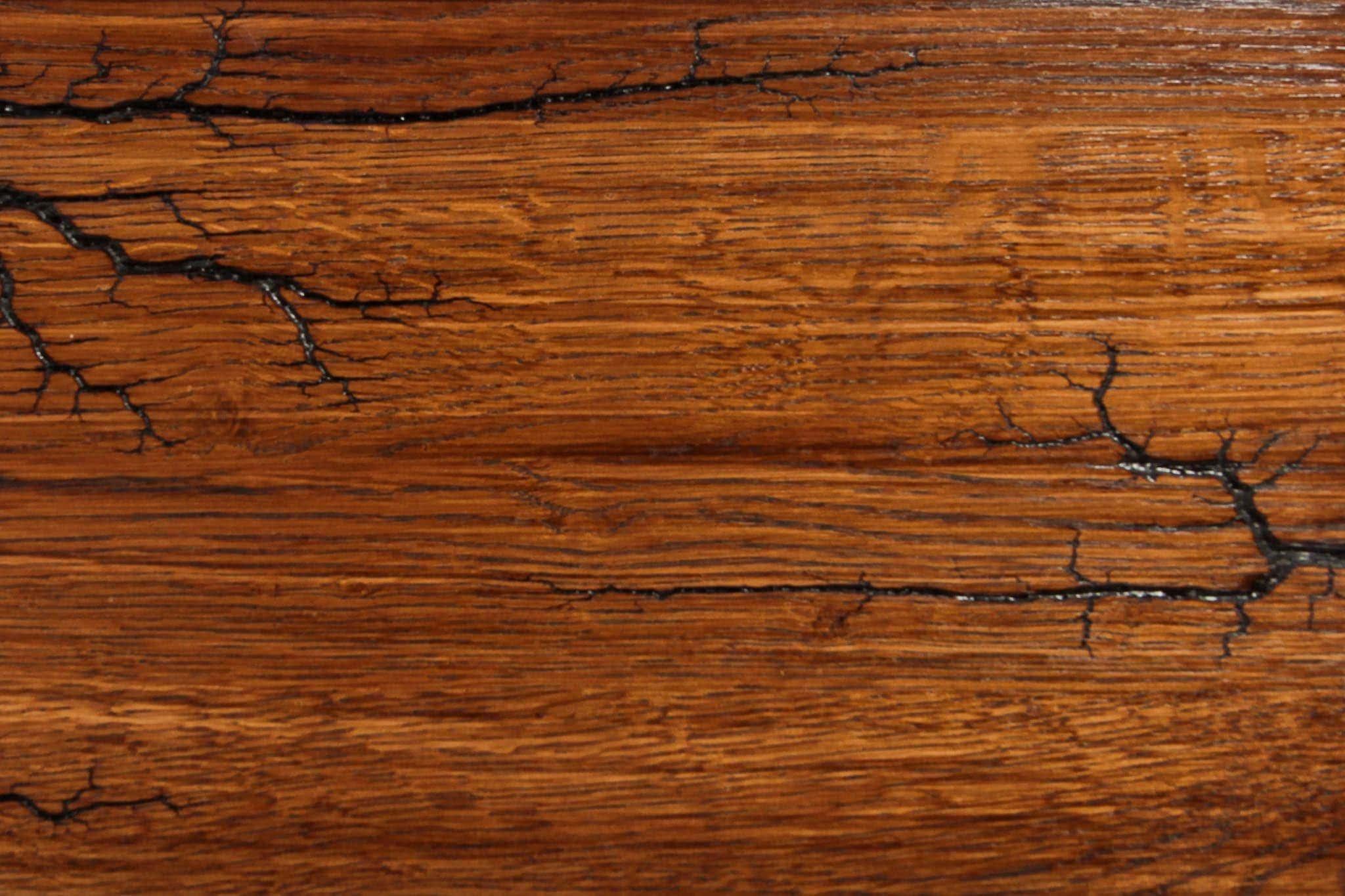 Dab wypalany lakier rustykalny
