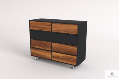 Elegant solid wood chest of drawers to living room NESCA II Furniture Manufacturer RaWood Premium Furniture