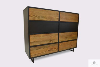 Elegant solid wood chest of drawers NESCA II