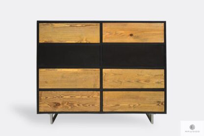 Elegant solid wood chest of drawers to living room NESCA II