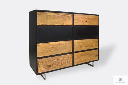 Modern wooden dresser with drawers to bedroom NESCA II