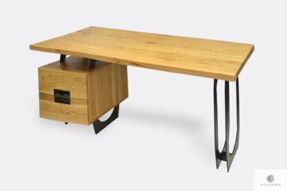 Modern office oak desk to home office WALT