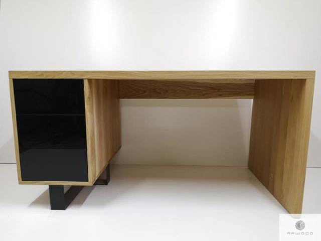 Solid oak desk to office MOCCA find us on https://www.facebook.com/RaWoodpl/