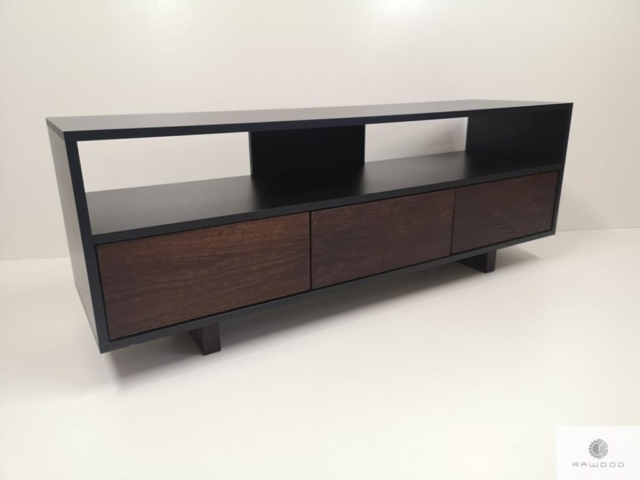 Industrial TV cabinet of wood to living room NESCA I find us on https://www.facebook.com/RaWoodpl/