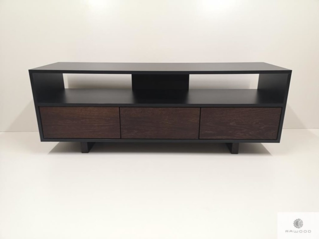 Industrial TV cabinet of wood to living room NESCA Ifind us on https://www.facebook.com/RaWoodpl/