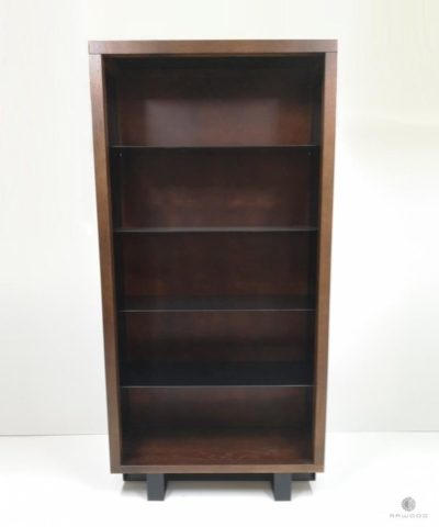 Rustic glass cabinet bookcase to living room MOCCA find us on https://www.facebook.com/RaWoodpl/