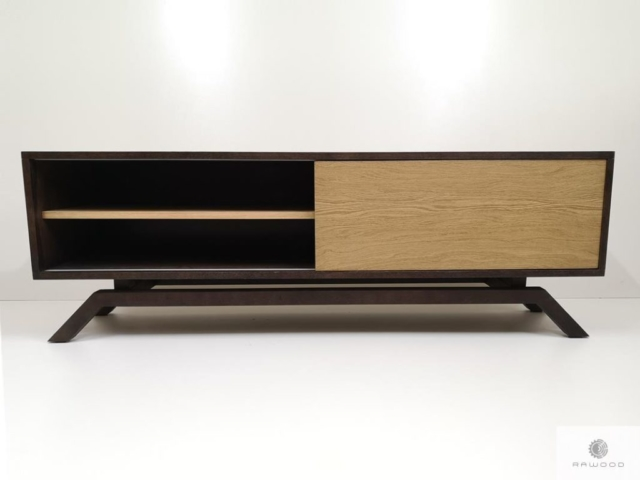 Modern TV console cabinet to living room CLEOfind us on https://www.facebook.com/RaWoodpl/