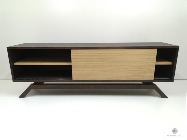 Modern TV console cabinet to living room CLEO find us on https://www.facebook.com/RaWoodpl/
