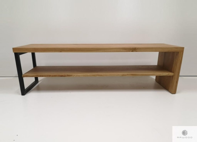 Bench of solid oak wood to hallway find us on https://www.facebook.com/RaWoodpl/
