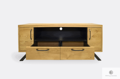 Industrial TV cabinet with drawers to living room JORGEN