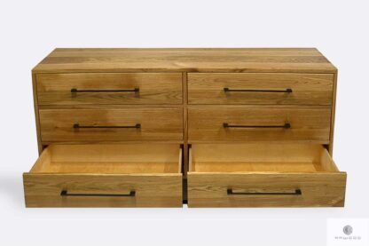 Loft chest of drawers in industrial style to living room MERIS