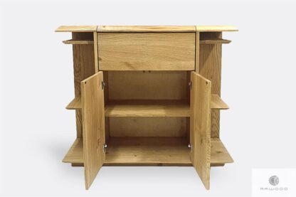 Oak liquor cabinet for size to dining room CARMEN I