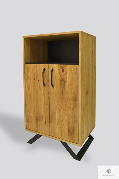 Oak chest of drawers for size JORGEN