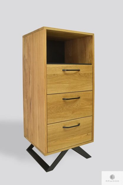 Wooden chest of drawers for size JORGEN