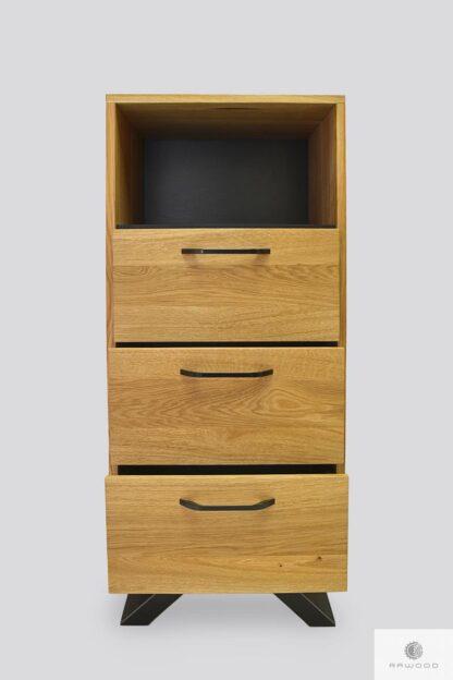Dresser with drawers bookcase JORGEN