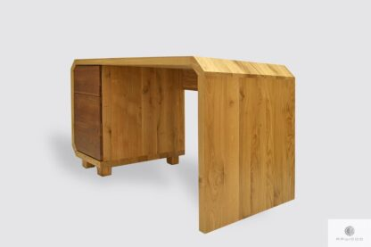 Large oak desk with drawers to office OMNIS Furniture Manufacturer RaWood Premium Furniture