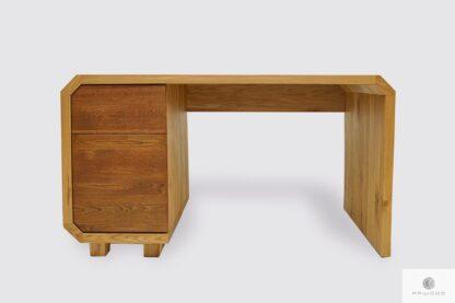 Biurko dębowe z szufladami do gabinetu biura OMNIS I