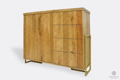 Modern wooden dresser with drawers to bedroom CARIN