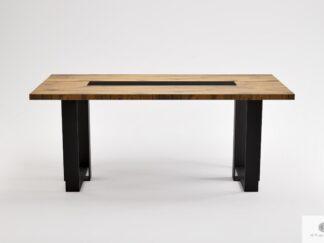Dębowy stół nowoczesny do jadalni salonu MOCCA
