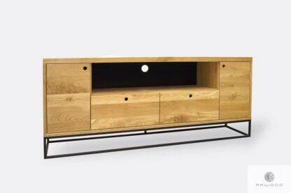 Modern oak TV cabinet to living room MERIS