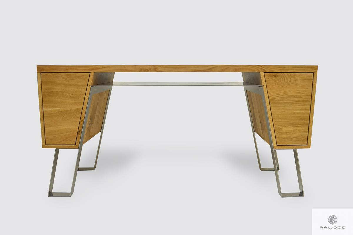 Modern wooden desk of solid oak wood to office BORA I