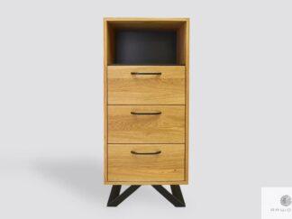 Oak cabinet with drawers to living room bedroom JORGEN