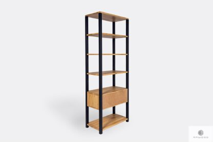 Loft industrial bookcase to office