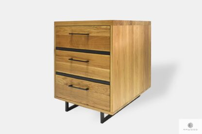 Industrial dresser with drawers to living room HUGON II