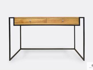 Industrial oak desk in loft style to office KING