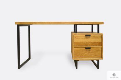 Oak wood desk to office law firm HUGON