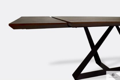 Table with extendable plates to living room BORNEO I