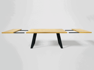 Table with extension plates
