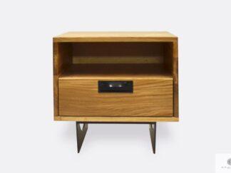 Industrial night stand with drawer und shelf to bedroom WALT